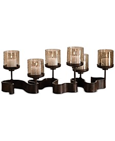 Ribbon Metal Candleholders