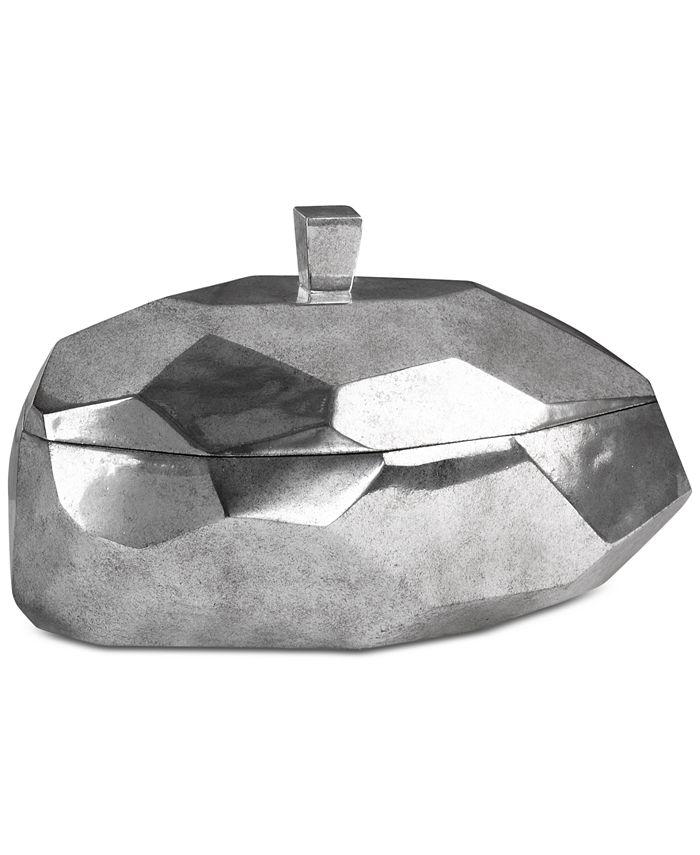 Uttermost - Minta Silver-Tone Box