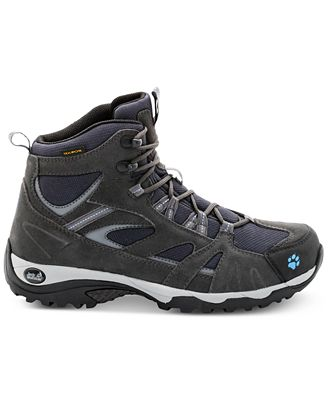 Jack Wolfskin Women's Vojo Mid Texapore Waterproof Hiking Boots, Light Sky from Eastern Mountain Sports