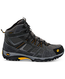 Jack Wolfskin Men's Vojo Mid Texapore Waterproof Hiking Boots, Burly Yellow from Eastern Mountain Sports