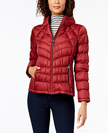 MICHAEL Michael Kors Petite Packable Down Puffer Coat