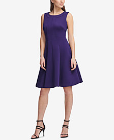 DKNY Sleeveless Fit & Flare Dress, Created for Macy's
