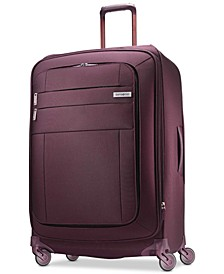 "CLOSEOUT! Agilis 30"" Softside Spinner Suitcase, Created for Macy's"