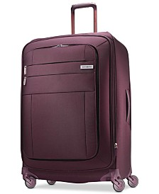 "Samsonite Agilis 30"" Softside Spinner Suitcase, Created for Macy's"