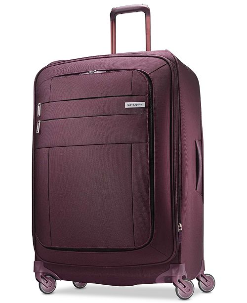"Samsonite CLOSEOUT! Agilis 30"" Softside Spinner Suitcase, Created for Macy's"