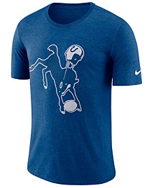 Nike Men's Indianapolis Colts Historic Crackle T-Shirt