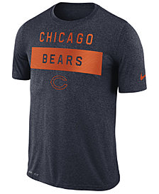 Nike Men's Chicago Bears Legend Lift T-Shirt
