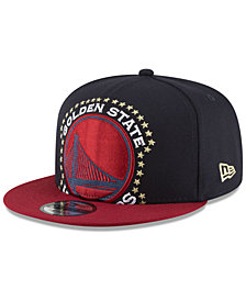 New Era Golden State Warriors XL AMERICANA 9FIFTY Snapback Cap