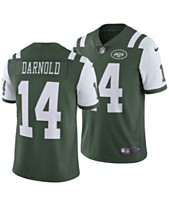 detailed look 325f4 34ddf Nike Men s Sam Darnold New York Jets Vapor Untouchable Limited Jersey