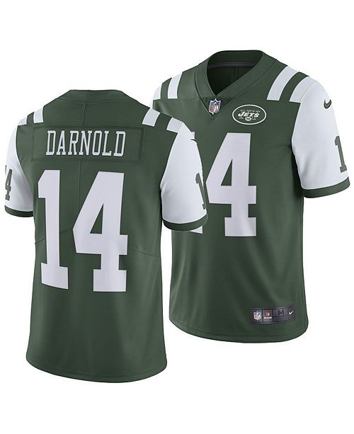 low priced 1ce62 f1fc1 Men's Sam Darnold New York Jets Vapor Untouchable Limited Jersey