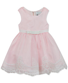 Rare Editions Toddler Girls Embroidered Organza Dress
