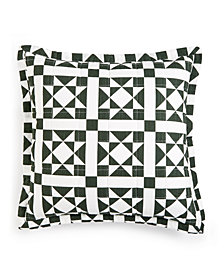 """CLOSEOUT! Calvin Klein Abigail 18"""" x 18"""" Decorative Pillow, New & First at Macy's"""
