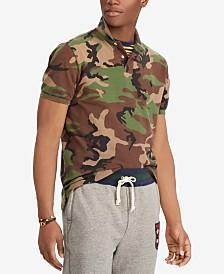 Polo Ralph Lauren Men's Classic Fit Camouflage Polo