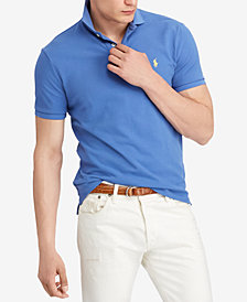 Polo Ralph Lauren Men's Custom Slim Fit Mesh Cotton Polo