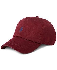 Men's Cotton Chino Baseball Cap