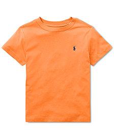 Polo Ralph Lauren Little Boys Cotton Jersey Crew-Neck T-Shirt