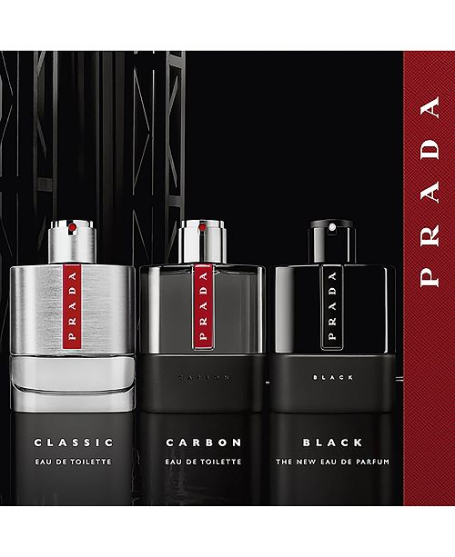 9391dc5741ab Prada Men's Luna Rossa Black Eau de Parfum Spray, 3.4-oz. & Reviews ...