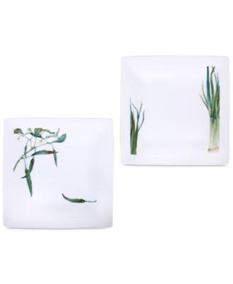 Kyoka Shunsai 2-Pc. Plate Set