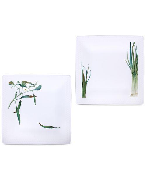 Noritake Kyoka Shunsai 2-Pc. Plate Set
