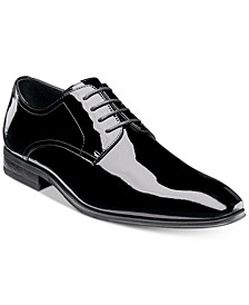 Men's Tux Plain-Toe Oxfords