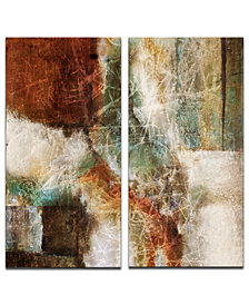 Ready2HangArt 'Earth Tone Abstract VIII' 2-Pc. Canvas Art Print Set