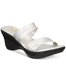 Callisto Prospect Slide Platform Wedge Sandals, Created for Macy's