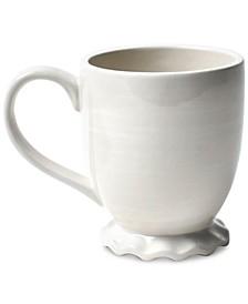 by Laura Johnson Signature Ruffle White Mug