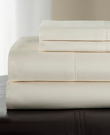 Andiamo Cotton 500 Thread Count 4-Pc. California King Sheet Set