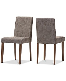 CLOSEOUT! Thais Dining Chair (Set Of 2), Quick Ship