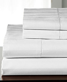 Andiamo Stripe Cotton 500-Thread Count 4-Pc. Full Sheet Set