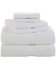 Ringspun Cotton 6-Pc. Towel Set