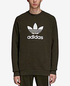 adidas Men's Originals Adicolor Fleece Logo Sweatshirt
