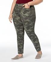65a087cf2 Style   Co Plus   Petite Plus Size Tummy-Control Slim-Leg Jeans