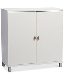 Evemy Storage Sideboard Cabinet, Quick Ship