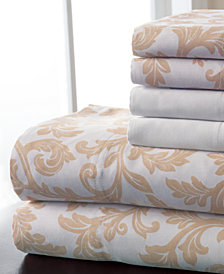 600 Thread Count 6-Pc. White Full Sheet Set