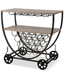 Branford Bar Cart, Quick Ship