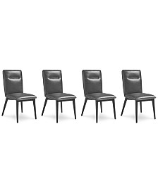 Callisto Dining Chair, Set of 4, Created for Macy's