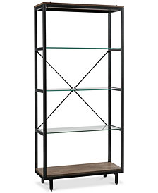 Raye Bookcase, Quick Ship