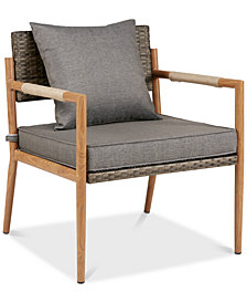 Owen Outdoor Accent Chair (Set Of 2), Quick Ship