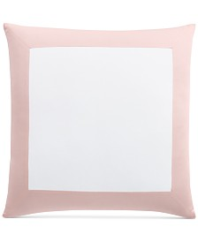 LAST ACT! Charter Club Damask Designs Colorblock European Sham, Created for Macy's
