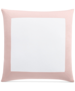 Image of Last Act! Charter Club Damask Designs Colorblock European Sham, Created for Macy's Bedding