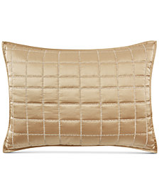 Hotel Collection Mosaic Grid Quilted King Sham, Created for Macy's