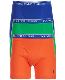 Polo Ralph Lauren Men's 3-Pk. Classic Boxer Briefs