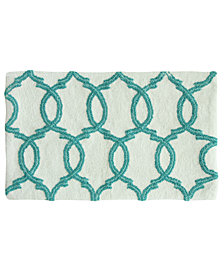 "Jessica Simpson Quinn Cotton 21"" x 34"" Bath Rug"