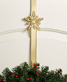 Holiday Lane Snowflake Wreath Hanger, Created for Macy's
