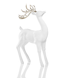 Holiday Lane White Standing Reindeer, Created for Macy's