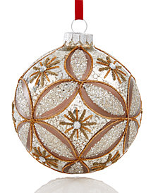 Holiday Lane Hex Ball Ornament, Created for Macy's