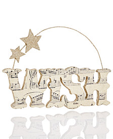 Holiday Lane Wish Ornament, Created for Macy's