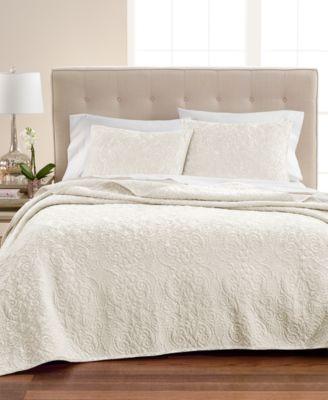 Velvet Flourish Twin Quilt, Created for Macy's