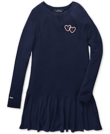 Polo Ralph Lauren Big Girls French Terry Dress